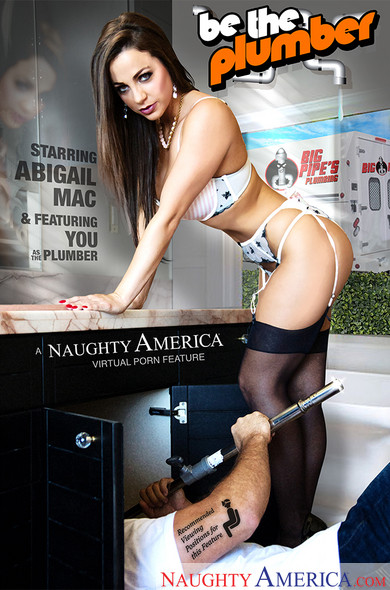 """Abigail Mac, Chad White In Naughty Rich Girls – """"Be the Plumber!"""""""