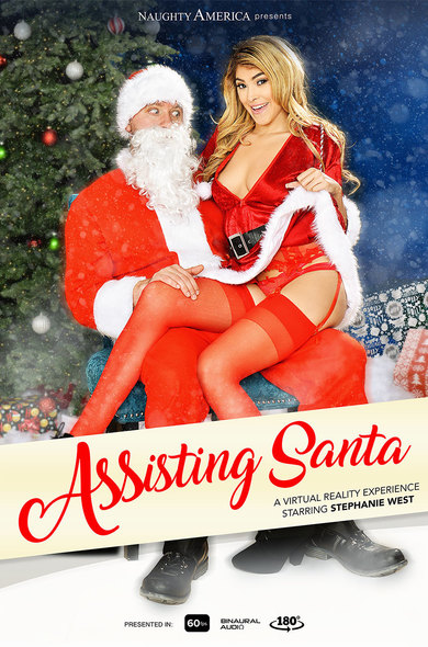Stephanie West in ASSisting Santa