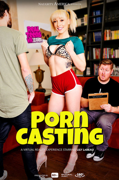 """Lily LaBeau in """"PORN CASTING"""""""