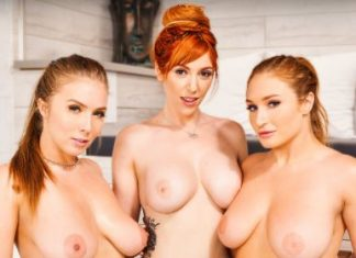 "Lauren Phillips , Lena Paul , Skylar Snow in ""Big Tits Spa 3"""