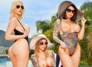 """Ivy LeBelle , Karma Rx , Vanessa Cage in """"Summer Vacation"""""""