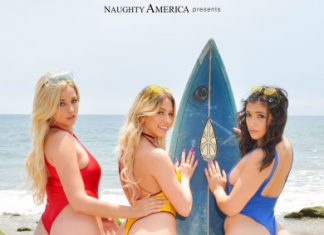 "Khloe Kapri , Brooklyn Gray , Sophia Lux in ""College Vacation"""