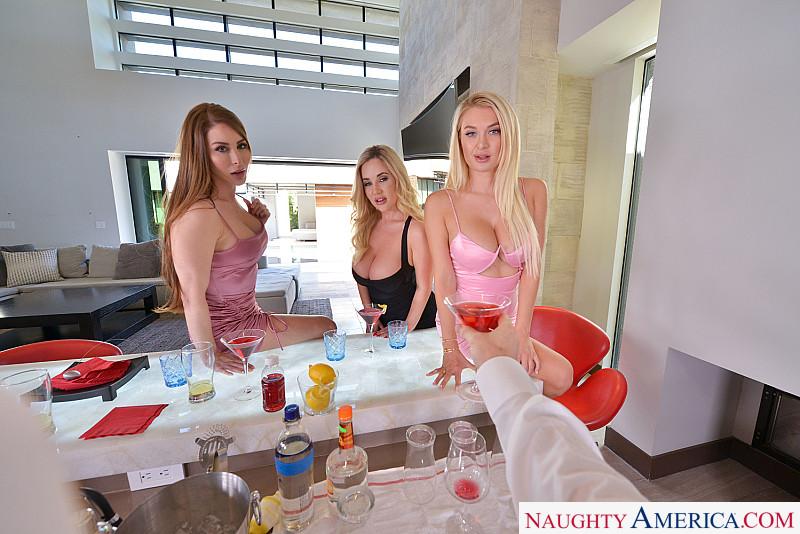 "Brianna Rose, Natalia Starr, Savannah Bond in ""The Big Tits Bar"""