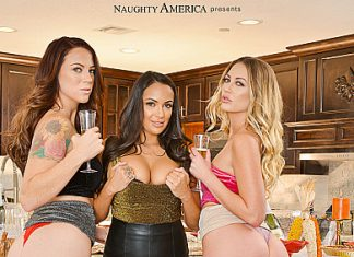 "Audrey Miles, Sofi Ryan, Adira Allure in ""THANKSGIVING 2019"""