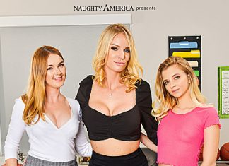 "Marie McCray, Rachael Cavalli, Riley Star in ""BigCock Bully"""