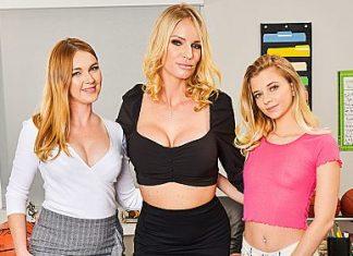 "Marie McCray, Rachael Cavalli, Riley Star in ""BigCock Bully"""
