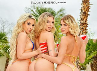 "Carmen Caliente, Emma Hix, Tiffany Watson in ""Party Girls: Spring Break Edition"""