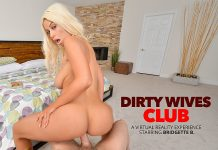 "Bridgette B. in ""Dirty Wives Club"""