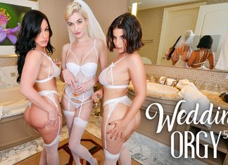 "Jennifer White, LaSirena69, Skye Blue in ""Wedding Orgy 5"""